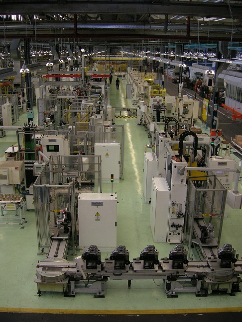 Transmission Main Assembly Line Teknoalfa